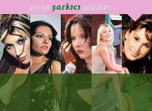 En iyi şarkıcı kim?  Son bir yılda başarılı çalışmalarıyla adını duyuran, şarkılarına eşlik ettiğimiz bayan şarkıcılar... Bu yıl en çok kimin şarkısı dilinizdeydi?  Sizce en iyi şarkıcı kim? Ankete katılmak için 14. sayfaya...